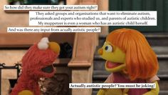 #SesameStreet #Autism #Autism Awareness #AutismAcceptance
