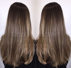 Natural balayage want want want this color! Hair Color And Cut, Brown Hair Colors, Light Brown Hair, Dark Hair, Balayage Hair, Brown Balayage, Bayalage, Brown Blonde, Long Layered Hair