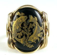 #cameojewelryart on Artfire                         #ring                     #Pisces #Zodiac #Sign #Vintage #Glass #Cameo #Ring #Rolled #Gold #Fish #cameojewelryart #Jewelry #ArtFire                         Pisces Zodiac Sign Vintage Glass Cameo Ring 14K Rolled Gold The Fish | cameojewelryart - Jewelry on ArtFire                                                 http://www.seapai.com/product.aspx?PID=79139