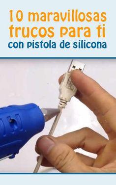 #hogar #tips #DIY #silicona #pistoladesilicona