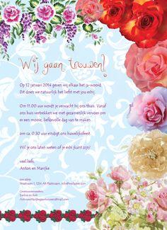 Weddingposter Roses by ViolArt