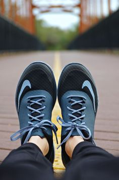 My feet need these adorable and comfortable Nike running shoes!