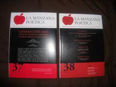 """Cubierta de las revistas """"La manzana poética"""""""