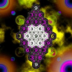 """""""If you only knew the magnificence of the 3, 6 and 9, then you would have the key to the universe."""" - Nikola Tesla"""