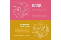 Wine industry Web landing page . Landing Pages Templates. $2.00