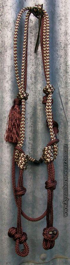 ROPE BRIDLES : Ky-ean Horse Wear