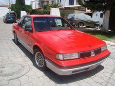 Tuve uno de estos, lo compre nuevo de agencia, Cutlass Eurosport 1989 rojo con interiores de piel gris claro, un carrazo!!!