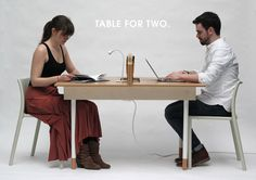 Table for Two | You have to check this thing out. Awesome.