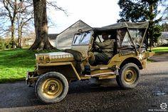 #Jeep #Willys au Rallye des Givrés, reportage complet : http://newsdanciennes.com/2016/02/15/grand-format-le-rallye-des-givres/ #Voiture #Ancienne #ClassicCar