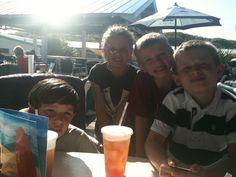 Mac, Anniston, Ethan & Blake