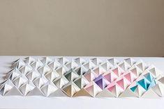 DIY Origami Wall Display | Design*Sponge | Bloglovin'