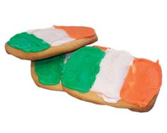 Irish Flag Cookies   Recipes