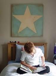 Resultado de imagem para canvas with star pinterest