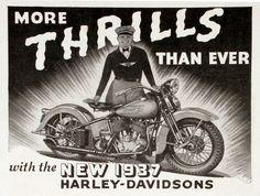 vintage harley davidson に対する画像結果