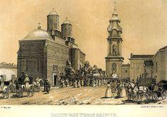 Trei Ierarhi Monastery, 1848, Iasi, Romania