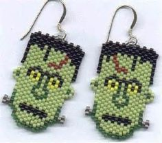 HALLOWEEN BEAD PATTERNS OOOOWWW