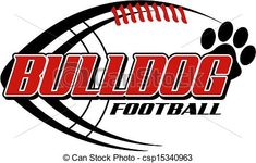 bulldog football clipart http://www.canstockphoto.com/bulldog-football-with-paw-print-15340963.html