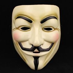1PCS  Hot Selling Party Masks V for Vendetta Mask Anonymous Guy Fawkes Fancy Dress Adult Costume Accessory Party Cosplay Masks-in Party Masks from Home & Garden on Aliexpress.com | Alibaba Group
