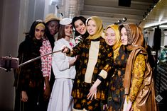 Backstage of the Indonesia Cultural Fashion 2017, Milan Fashion Show.
