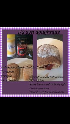 Half syn doughnut..... Slimming world