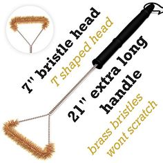 BBQ Grill Brush - GREAT gift - on Amazon -http://iazrs.com/nbabesEXtR - with coupon - CPNKRQ85  - less than $5!!!!