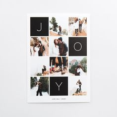 This 5x7 flat card is printed on premium quality 100% recycled paper. Customize the design with your favorite photo and a personalized greeting.