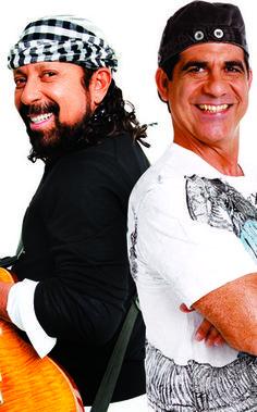 Bell Marques e Durval Lelys se reencontram em show no Rio (Foto: Divulgação) - http://epoca.globo.com/colunas-e-blogs/bruno-astuto/noticia/2014/08/bbell-marquesb-e-durval-lelys-se-reencontram-em-show-no-rio.html