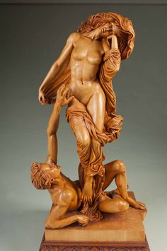 Wood carving by Fred Zavadil