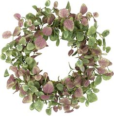 18 inch Green Leaves Wreath Eucalyptus Wreath in Burgundy for Front Door Wall Hanging Window Wedding Party Home Decoration Artificial Eucalyptus Garland, Eucalyptus Wreath, Home Decoration Brands, Wondrous Wreath, Greenery Wreath, Floral Wreaths, Succulent Wreath, Diy Fall Wreath, Wreath Forms