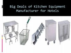 Hotel Kitchen Equipments Manufacturers and Suppliers ...