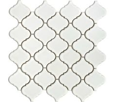 Mini Arabesque- White Tile- Backsplash Tile- Kitchen Tile