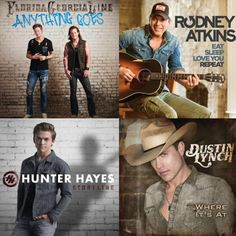 'Cause when the sun is shining, what better music is there to play than country?
