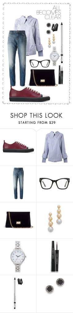 """""""dress to impress¶"""" by racheal-taylor ❤ liked on Polyvore featuring Lanvin, Delada, J Brand, Spitfire, Rodo, Elizabeth and James, Marc Jacobs, Dolce&Gabbana and Trish McEvoy"""