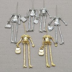 Doll parts on arrival!! Fashion doll necklace accessories parts doll pendant body with arms and feet  Dress up by yourself