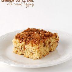 Streusel Filled Cinnamon Coffee Cake