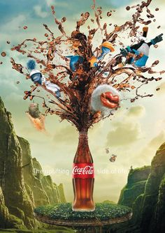Coca-Cola Posters by Tobias Ambs-Thomsen, via Behance
