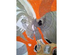 Bonescape 62, 2012, silkscreen & mixed media, 56 x 76cm Printmaking | Our Collection | Art At The Henry Jones