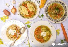 13 1 levesbetét, amit már a mamika is készített Gnocchi, Guacamole, Thai Red Curry, Bacon, Ethnic Recipes, Food, Yum Yum, Essen, Meals