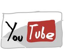 YouTube Logo Drawn by me on Adobe Ideas