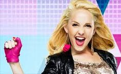 Rock Look pink black gold glitter earrings Seize Ans, Sofia Carson, Ambre, Mercedes, Lucy Hale, Paris Hilton, Descendants, Disney Channel, Girly Girl