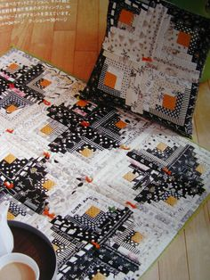 Log Cabin quilt made so much quicker with the add of the Studio Strip Cutter.