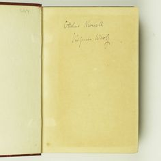 Virginia Woolf, Mrs Dalloway, Signed First Edition