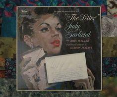 "Judy Garland ""The Letter"" (1959, easy Listening LP Vinyl Record)$18"