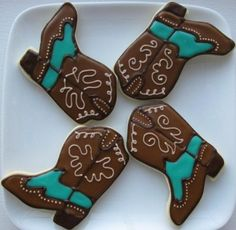 Boot Cookies By amylynn716 on CakeCentral.com-