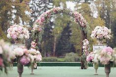 wedding ceremony rain
