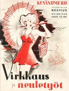 1942 inspiration: Finnish fashion & knitting drawings   by gum, by golly!