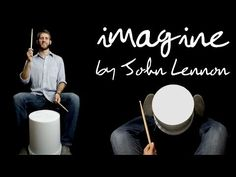 """Imagine"" By John Lennon Bucket Drum Cover Bucket Drumming, Online Music Lessons, Middle School Music, Imagine John Lennon, Drum Cover, Music Lesson Plans, Music Classroom, Music Teachers, Classroom Design"