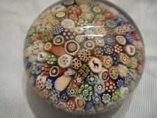 Baccarat Close Packed Millefiori Paperweight 1848  sold £1,100