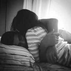 LOVE morning hugs...