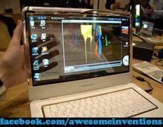 Transparent Laptop! (concept)
